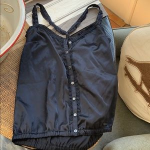 Silk top from Abercrombie